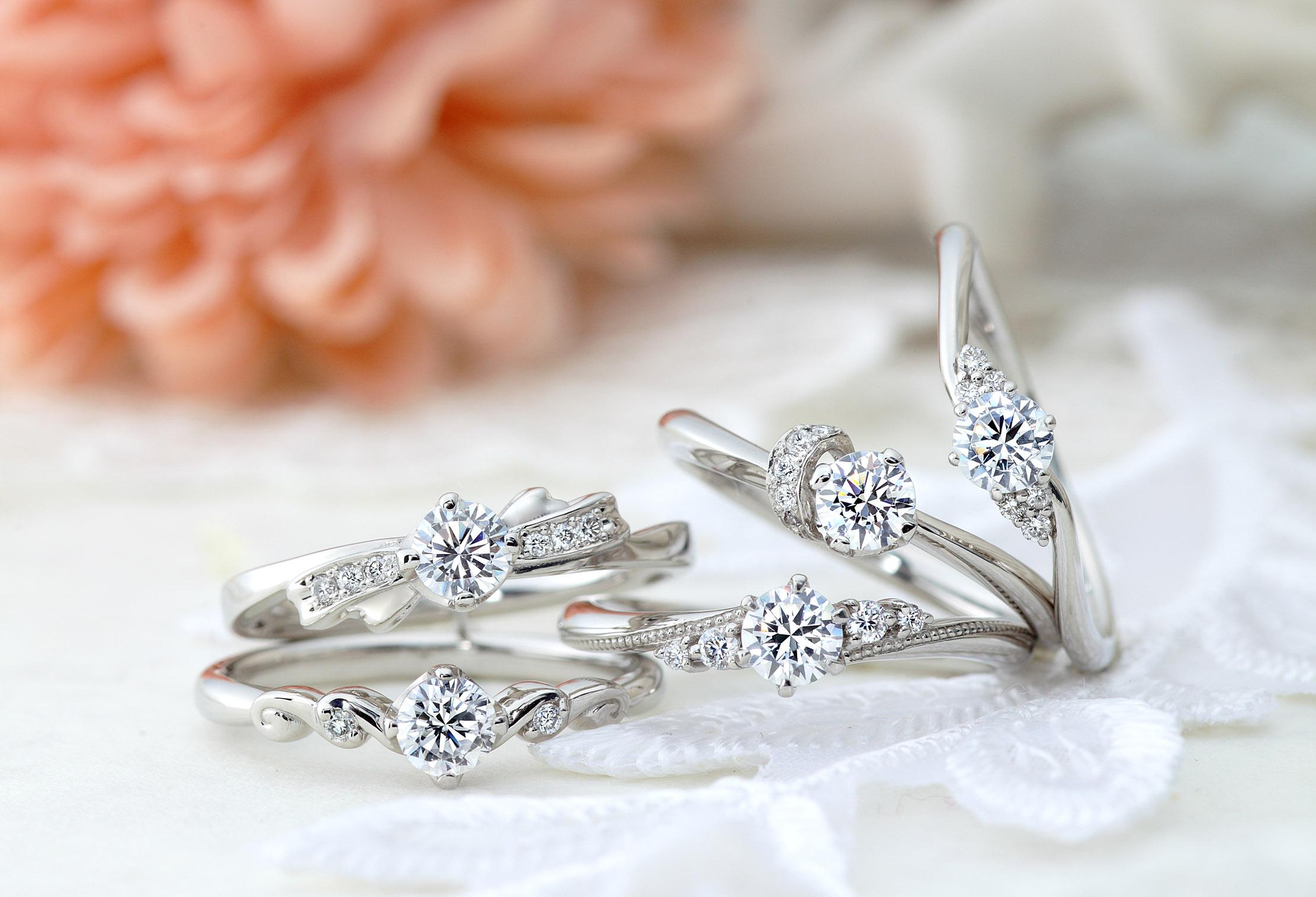 【静岡市】プロポーズから始まる「素晴らしい人生」 『VIVAGE ヴィヴァージュ』の婚約指輪♡