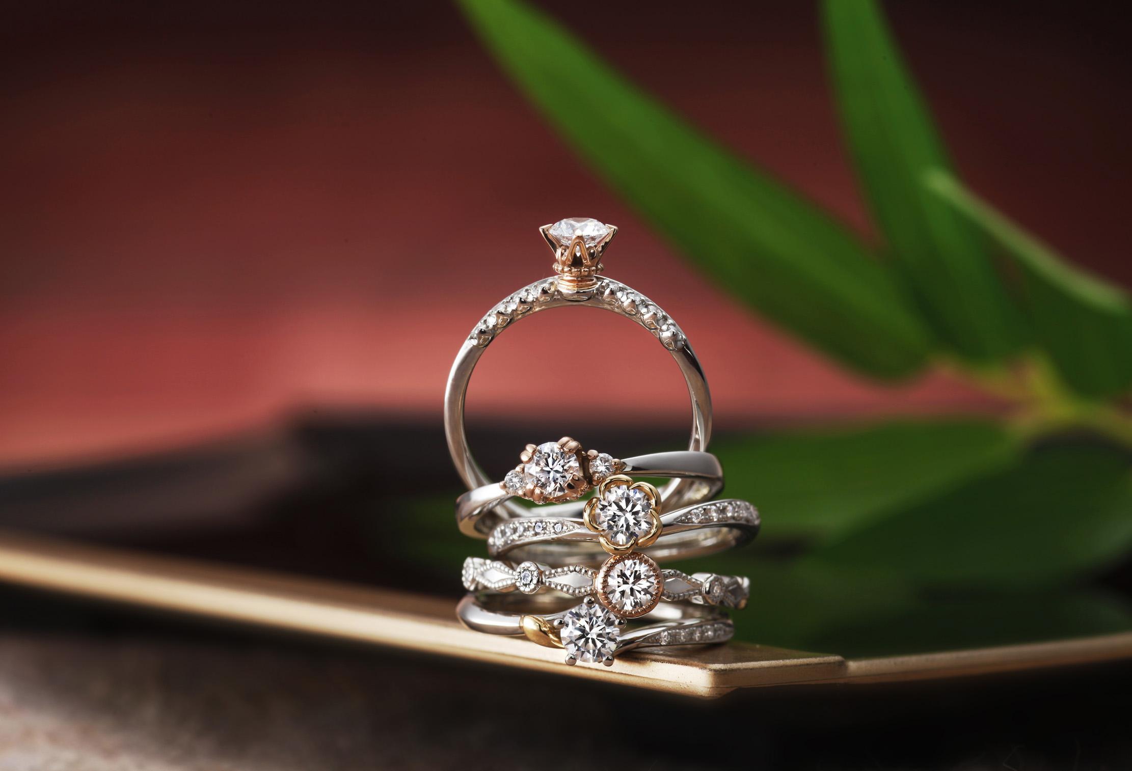 【静岡市】和の心の美しさ『彩乃端 IRONOHA』の婚約指輪