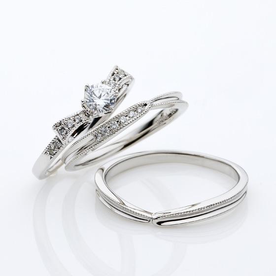 【静岡市】婚約指輪や結婚指輪を選ぶ時、よく聞く『ミル打ち』って知ってる!?
