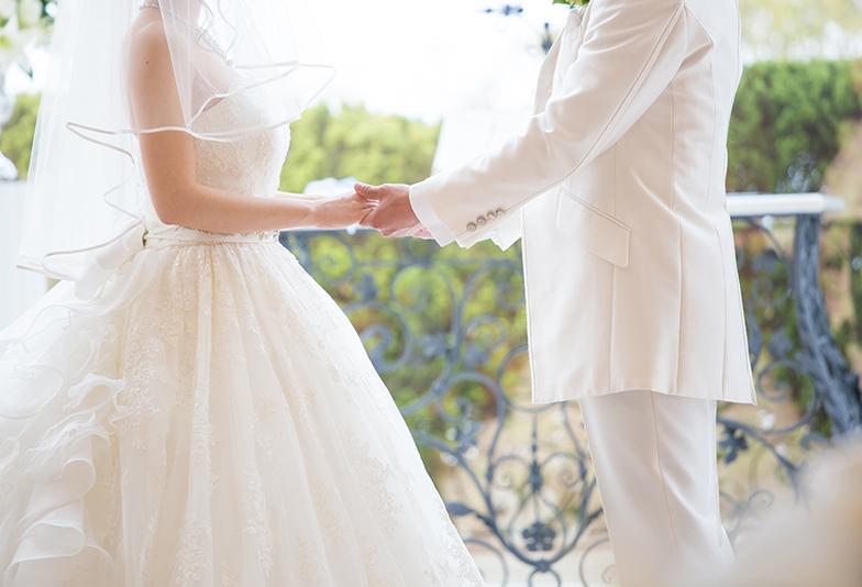 【福山市】青のおまじないに注目。ディズニーコラボの婚約指輪・結婚指輪の重ね付け♡