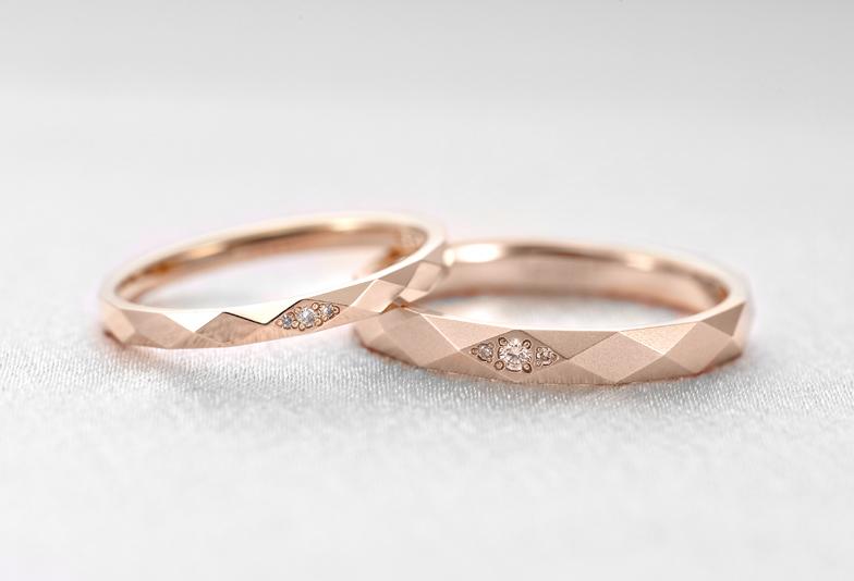 カットリングラブボンド結婚指輪ピンクゴールド