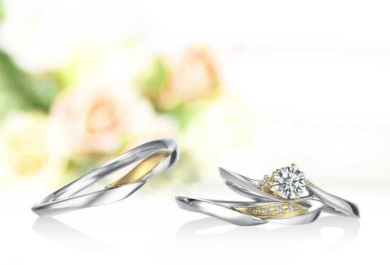 【浜松】コンビネーションリングが可愛い!ふたりだけの歴史を刻んだ婚約指輪・結婚指輪
