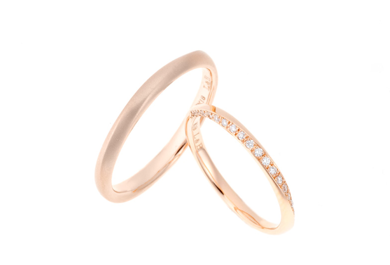 結婚指輪ゴールド人気