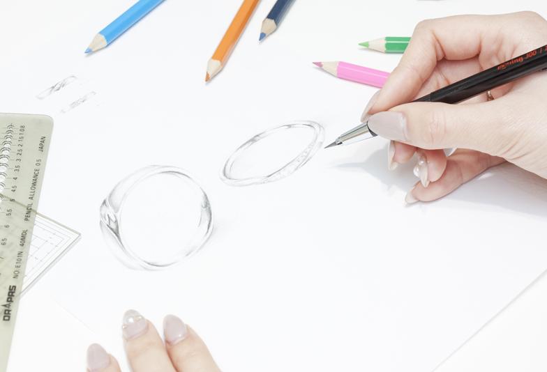 【浜松】オリジナルが詰まった結婚指輪!デザインと着け心地にこだわったブライダルリング