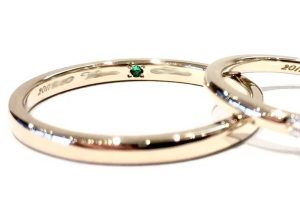 結婚指輪の内側に...シークレットストーンに込められた想い【福岡県久留米市】