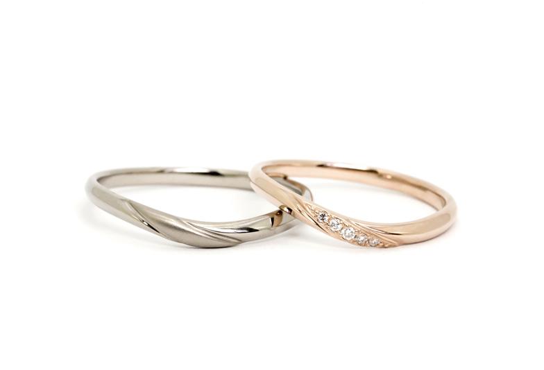 YM-024.YM-025 ゴールド結婚指輪