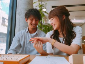 【浜松市】永く身に着ける結婚指輪だからオーダーメイドがおすすめ