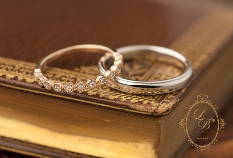 【LOVE BOND】6月限定June brideフェア開催!結婚指輪の人気アンティークブランドからのお知らせ♡【静岡市】