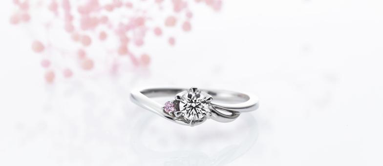 ウインド婚約指輪
