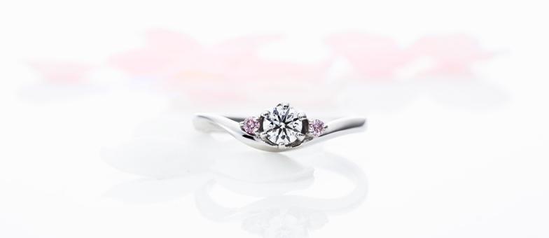 エントレドュー婚約指輪
