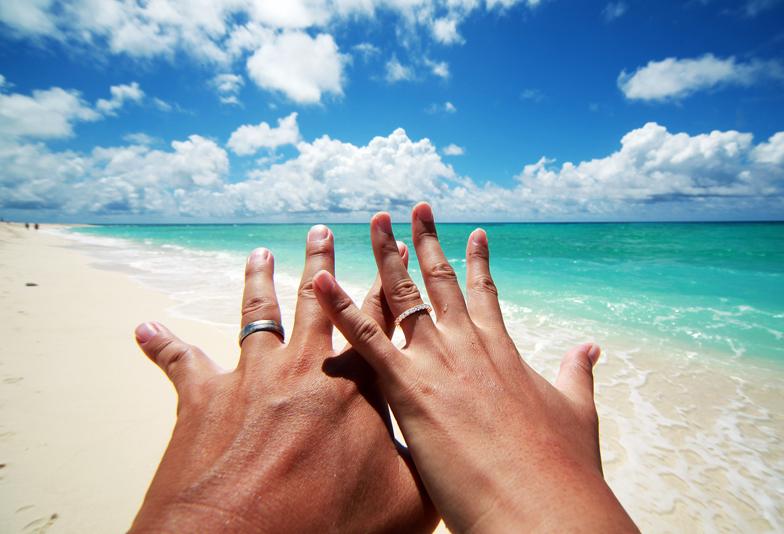 【大阪・なんば】ハワイアン結婚指輪の価格は!?
