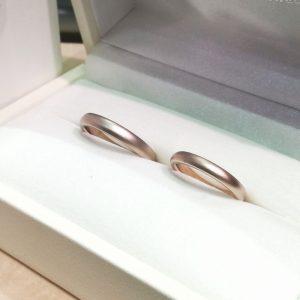 【静岡市・浜松市】丈夫で着け心地のいい結婚指輪