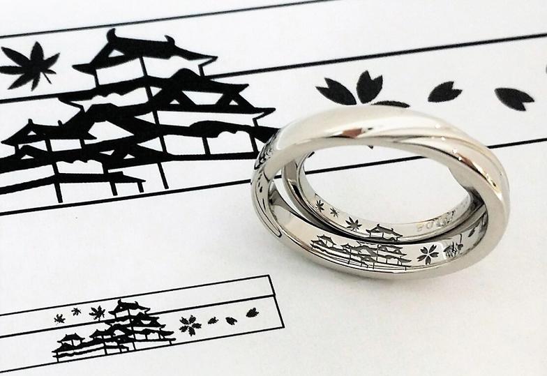 【浜松市・静岡市】指輪の内側にこだわった結婚指輪はオーダーメイドで!