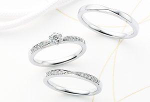 【浜松】着け心地にこだわった、大人かっこいいデザインの婚約指輪!