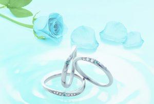 【静岡市】プレ花嫁に贈る 幸せになれるブルーダイヤモンド