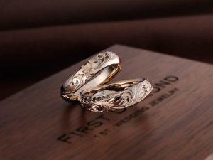 【静岡市】男性が選ぶ結婚指輪。ブラックダイヤモンドがカッコイイ!