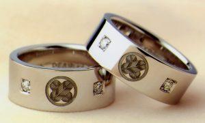 【静岡市】超個性的!想いのギュッと詰まった結婚指輪…
