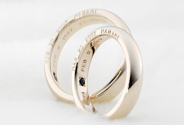 結婚指輪プレミアムホワイトゴールド
