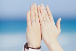 【静岡市・浜松市】夏でも大人気!結婚指輪に入れる「雪の結晶」デザインはオーダーメイド専門店ファーストダイヤモンドで」