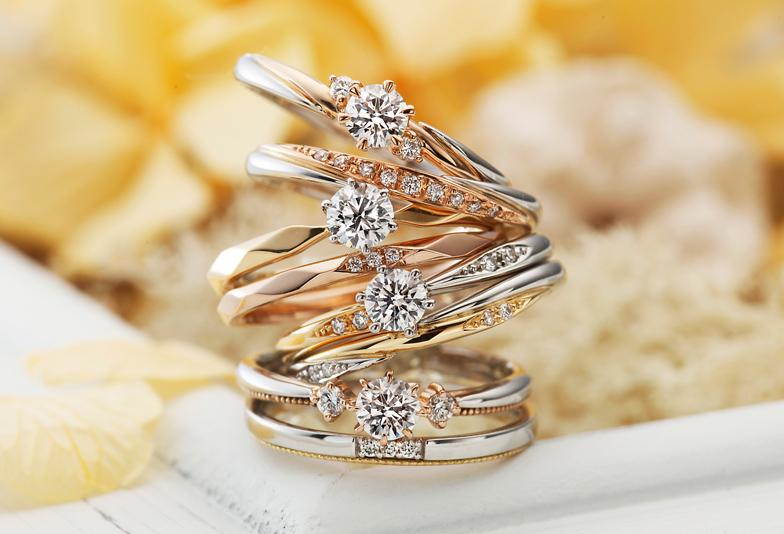 【浜松市】バイカラーのセットリングが人気!?令和元年から注目を浴びている人気の婚約指輪・結婚指輪ブランドとは?