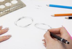 【浜松】オリジナルデザインのセットリング!アレンジを加えてお二人だけのリングを♡