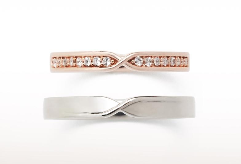 結婚指輪 ゴージャス
