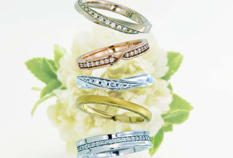 【浜松】永遠の愛を奏でるお洒落で可愛い結婚指輪!永遠の愛を薬指に託して♪