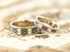 【福岡県久留米市】オシャレ男子必見!シャンパンゴールドの結婚指輪!