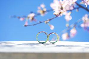 【豊橋】SORAの世界 色の付いた結婚指輪