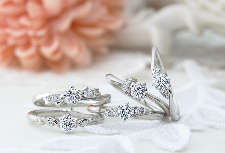 【静岡市】女性の憧れである婚約指輪はシンプルで可愛らしい『VIVAGE』がおすすめ!
