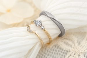 浜松で指輪探し。華奢なリングがお好みの方必見!細めのエンゲージリング(婚約指輪)特集