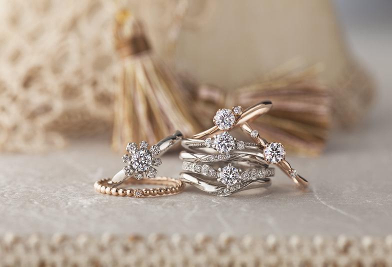 【静岡市】大人かわいい♡心躍るアンティーク調の結婚指輪♪
