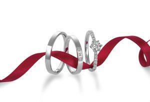【浜松】ダイヤモンドの輝きにこだわった個性が光る結婚指輪
