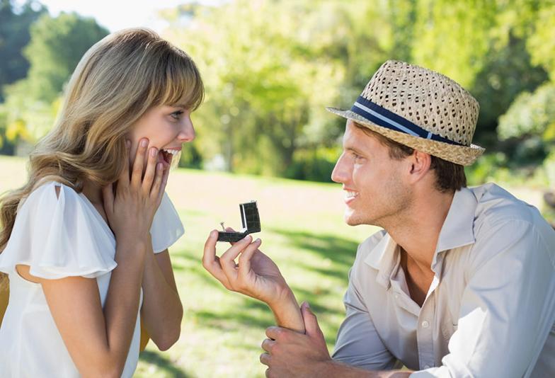【静岡市】プロポーズで婚約指輪をお探しの男性へ♡