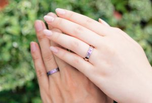 【浜松市】人とかぶらない個性的なデザインの結婚指輪をお探しの方へ!