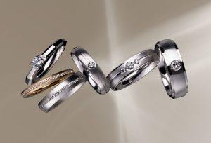 【浜松】個性が光るお洒落なデザインが特徴的!ドイツブランドの結婚指輪
