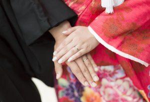 【米沢市】和テイストの結婚指輪♡和装婚にもピッタリな「Katamu」