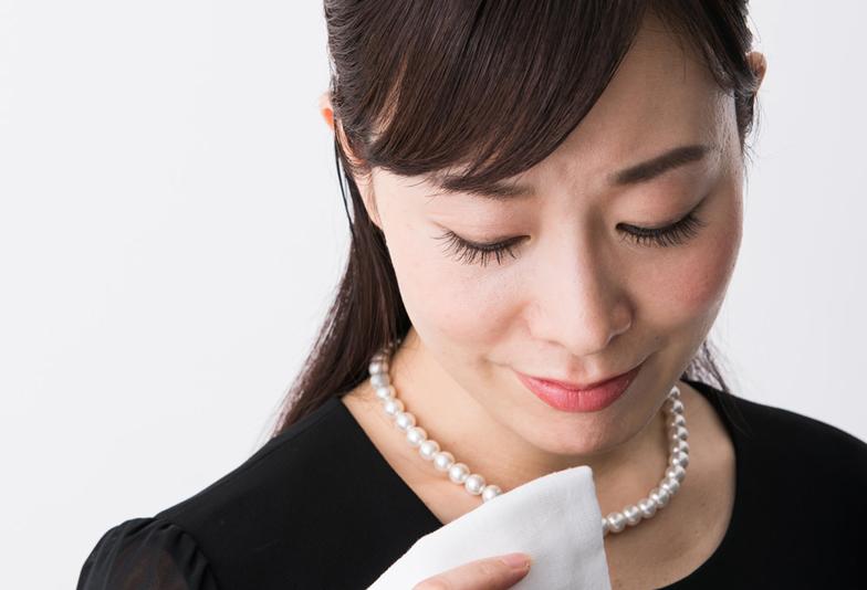 【静岡市】冠婚葬祭マナー「ブラックフォーマル黒蝶真珠ネックレス」