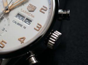 【静岡】TAGHeuer 大人のクロノグラフ時計 タグホイヤーカレラキャリバー16