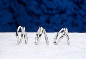 【浜松市】ダイヤモンドの輝きと着け心地にこだわったブランドのセットリングをご紹介