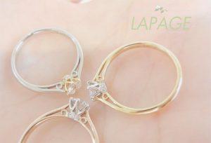 【静岡市】オシャレと話題♡LAPAGE ラパージュの婚約指輪