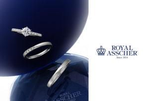 【福島市】婚約指輪♡世界でただひとつ「ロイヤル」の称号を持つダイヤモンド、ロイヤルアッシャーダイヤモンド
