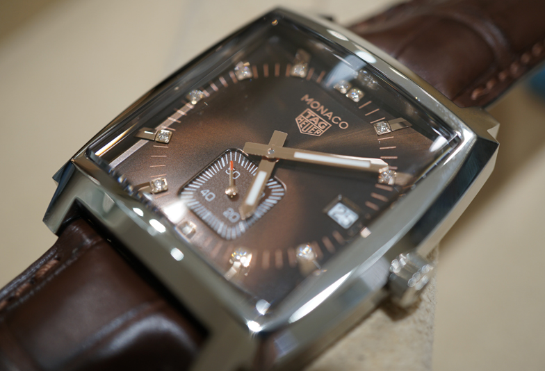 best loved 7ede4 fc0fa 静岡市】TAGHeuer2018新作タグホイヤーモナコ 秋色ブラウン登場 ...