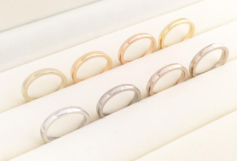 【富山市】結婚指輪の鋳造製法と鍛造製法の違いをご存知ですか?