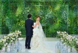 【藤枝市】駅直結!屋内と感じさせない美しい緑が溢れる結婚式場♡