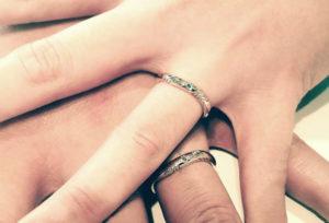 【福岡県久留米市】結婚指輪の内側に込められた想い♡