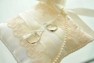 【福岡県久留米市】結婚式の必需品!!リングピロー♡