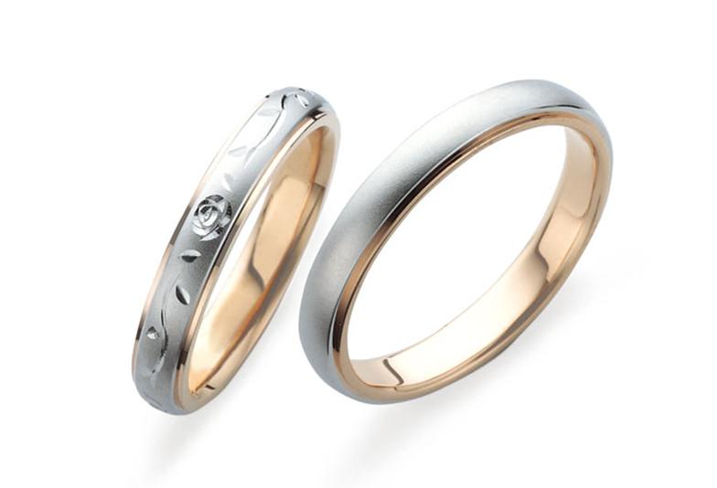 プチマリエ 鍛造リング 結婚指輪