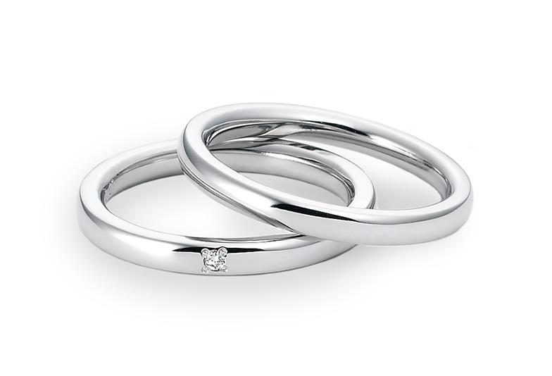 結婚指輪、婚約指輪に軽量でおすすめ!!【福岡県久留米市】