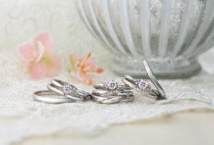 【浜松市】ピンクダイヤモンドが可愛い♡結婚指輪特集